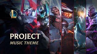 PROJECT | Official Skins Theme 2021 - League of Legends