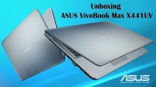 Unboxing ASUS VivoBook Max X441UV