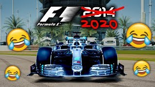 PLAYING F1 2020 CAREER MODE!!!   (... but it's on the 2014 game?!)