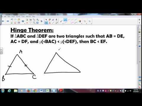 MATH335 SUNYGeneseo Neutral Geometry 9 Three Inequalities