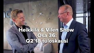 Nordea ylitti, Nokia petti: tuloskausi Q2'18 pähkinänkuoressa