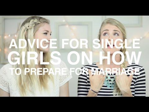 Advice for Single Girls on How to Prepare for Marriage | Vlog