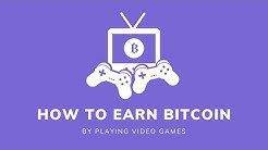 How to Earn Bitcoin By Playing Video Games