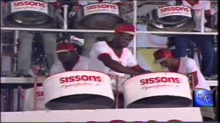 "G.B.T.V. CultureShare ARCHIVES 1988: SISSONS SYNCOPATORS STEEL ORCHESTRA  ""A feel like doing"" (HD)"
