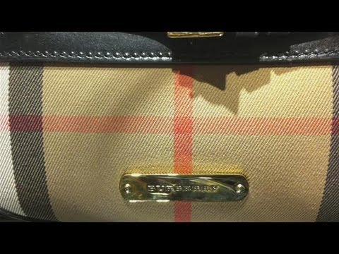 How To Recognize A Fake Burberry Handbag - YouTube 280c7f99808d4