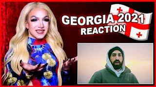 Georgia   Eurovision 2021 Reaction   Tornike Kipiani - You