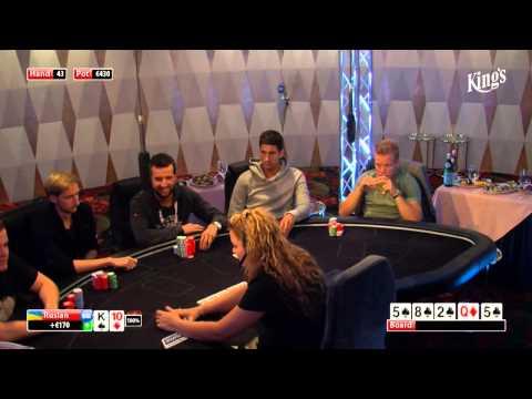 CASH KINGS E24 1/2 - CZ - NLH 5/10 ante 5 - Live cash game poker show - Leon Tsoukernik