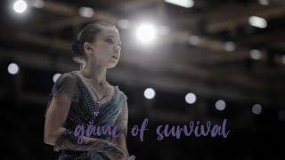 Kamila Valieva game of survival
