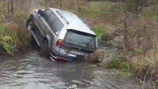 +Запорожье Супер Тест-Драйв:))) Читать Коменты!!!:))) Mitsubishi Pajero Sport In The Mud