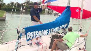 Offshore Sailing School - Spinnaker Leeward Douse