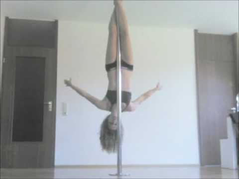 Pole Dance Tutorial: Butterfly (different grip variations)