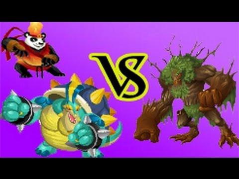 Pandaken and Koopigg Monster VS Nemestrinus Monster ...