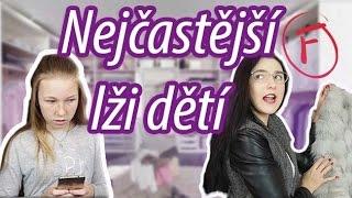 10 nejčastějších DĚTSKÝCH lží /SKETCH/ l Veronika Spurná