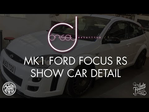 MK1 FORD FOCUS RS SHOW CAR DETAIL BY OFFSET DETAILING ESSEX