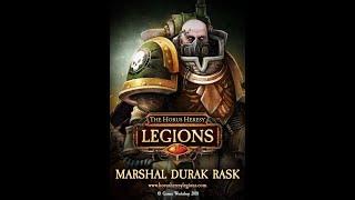 The Horus Heresy : Legions, игровые колоды Дьюрака Раска