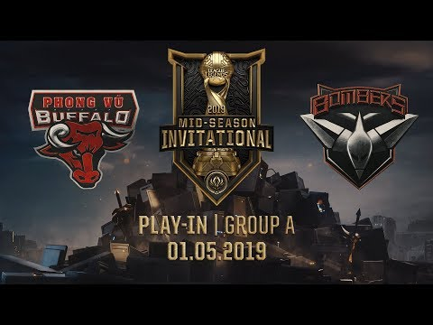 PVB vs BMR [MSI 2019][01.05.2019][Group A][Play-in]
