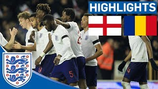 England Hold Firm to Beat Romania | England U21 2- 1 Romania | Official Highlights