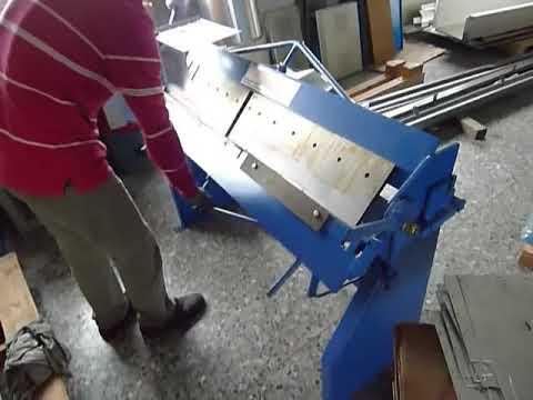 LEMAS Hand Box & Pan Brake Model: LD-416U 1.5x1220