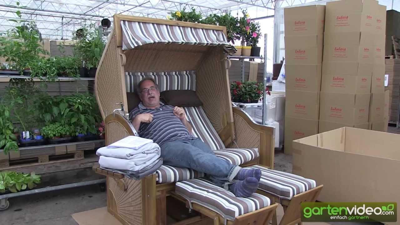 aufbau von einem strandkorb trend 105 teil 3 youtube. Black Bedroom Furniture Sets. Home Design Ideas
