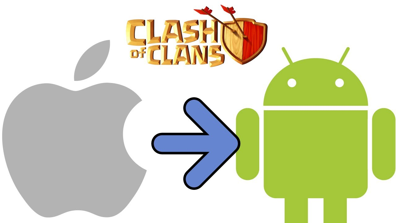 transfer ios to android coc