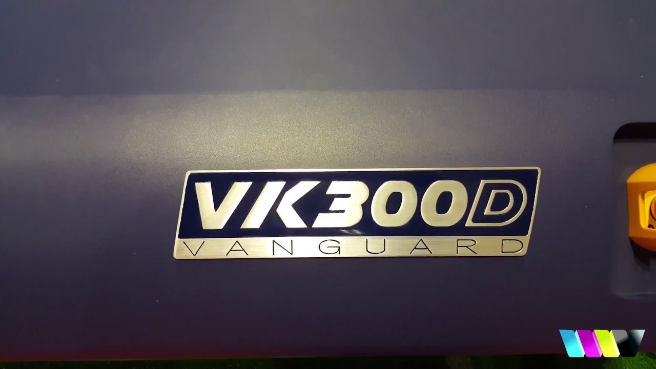 NEW VK300D from Vanguard Digital Printing Systems - YouTube