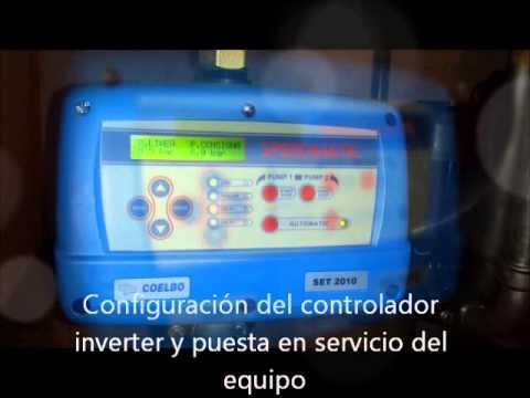 Instalacion grupo de presion de agua variador velocidad for Grupo de presion de agua para edificios