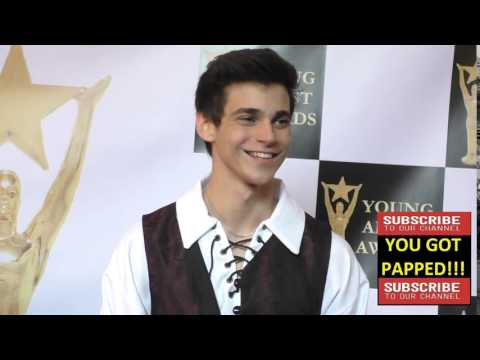 Nicolas Fontaine at the 37th Annual Young Artist Awards Sportsman Lodge in Studio City
