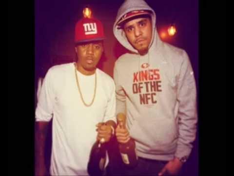 J. Cole - Let Nas Down (Remix - Made Nas Proud) ft. Nas (Lyrics Video)