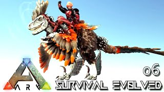 ARK: SURVIVAL EVOLVED - NEW DEINONYCHUS TAMING & BREEDING !!! VALGUERO ARCHAIC ASCENSION PYRIA E06