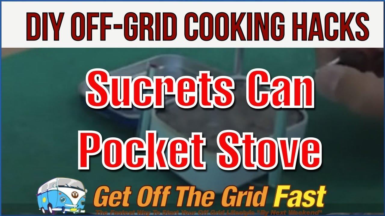 "DIY Off-Grid Cooking Hacks #20: Sucrets Can Alcohol ""Pocket Stove"" (Not Altoids)"
