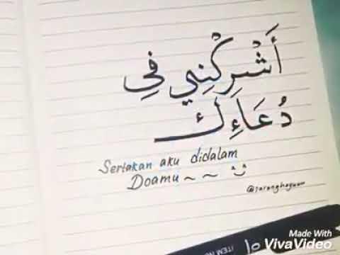 Kata Kata Cinta Santri Salafi Bahasa Arab