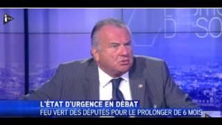 Alain Marsaud A titre personnel je me défends, je porte une arme – iTELE FR