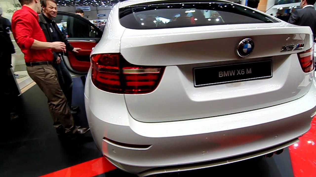Bmw X6 M Facelift La Salonul Auto De La Geneva 2012 Youtube