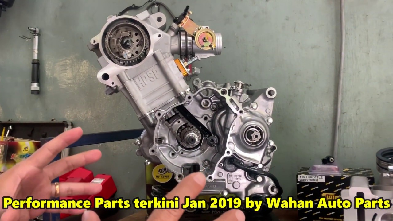 New Performance Parts For Y15ZR by Wahan Auto Parts