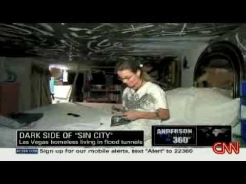 LAS VEGAS: Living In Underground Tunnels   YouTube