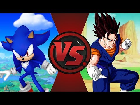 SHADIC vs VEGITO! (Sonic: Nazo Unleashed DX vs Dragon Ball Super) Cartoon Fight Club Episode 199