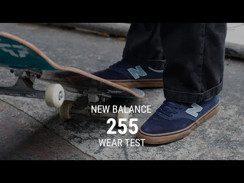 New Balance 255 Skate Shoes Wear Test Review - Tactics