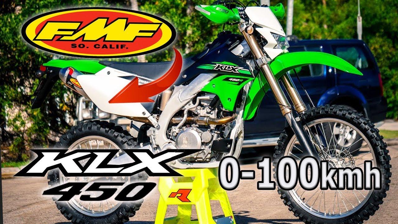 video Kawasaki KLX 450R