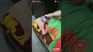 Baby gives shoe for call funny