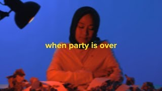 When the party's over - Billie Eilish (Cover) by Shadira Firdausi