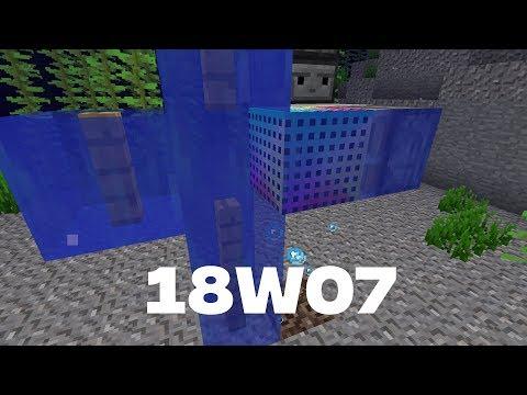 Minecraft News: 18w07 Rainbow Blocks And More
