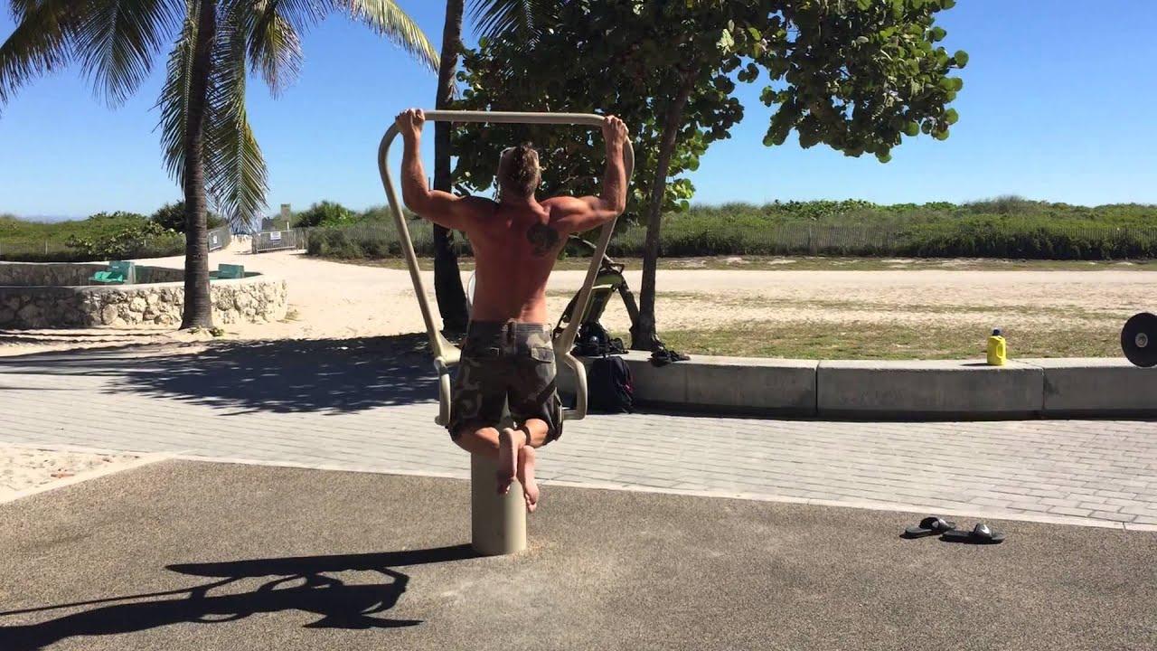 Training In Miami Beach Lummus Park
