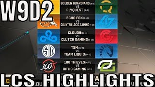 LCS Highlights ALL GAMES Week 9 Day 2 Spring 2019 League of Legends NALCS