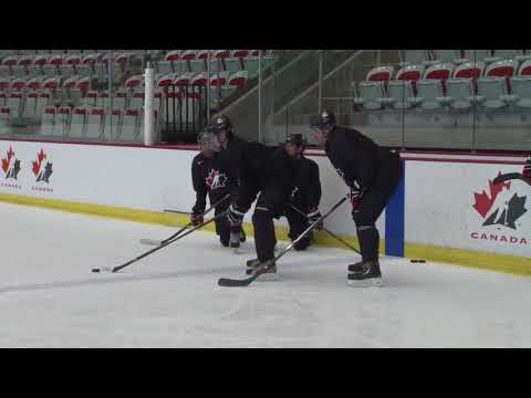 HCN Drill of the Month: Puck Control, Box Creativity with Puck Protection