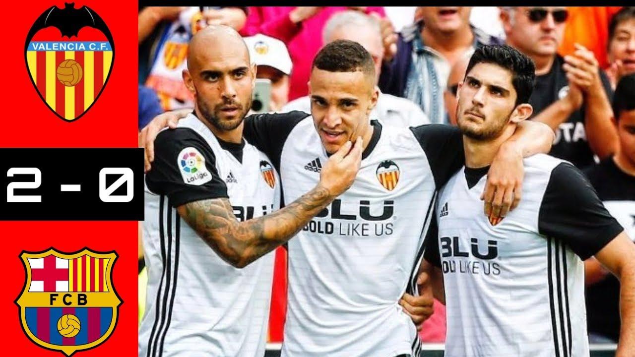 Valencia Vs Barcelona   Hasil Liga Spanyol Laliga Spanyol