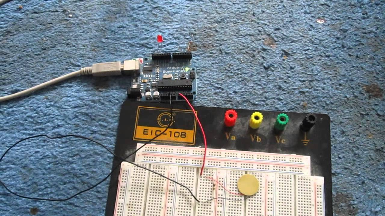 Touch Sensor Circuit Using Piezo Knock Youtube Ambientlightgnoringopticalsensor Sensorcircuit