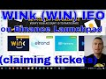 investing in WINk on Binance Launchpad IEO [LIVE claiming tickets]