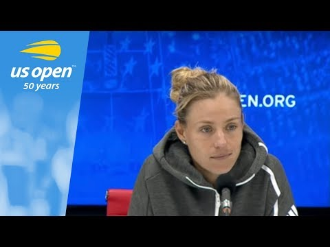 2018 US Open Press Conference: Angelique Kerber