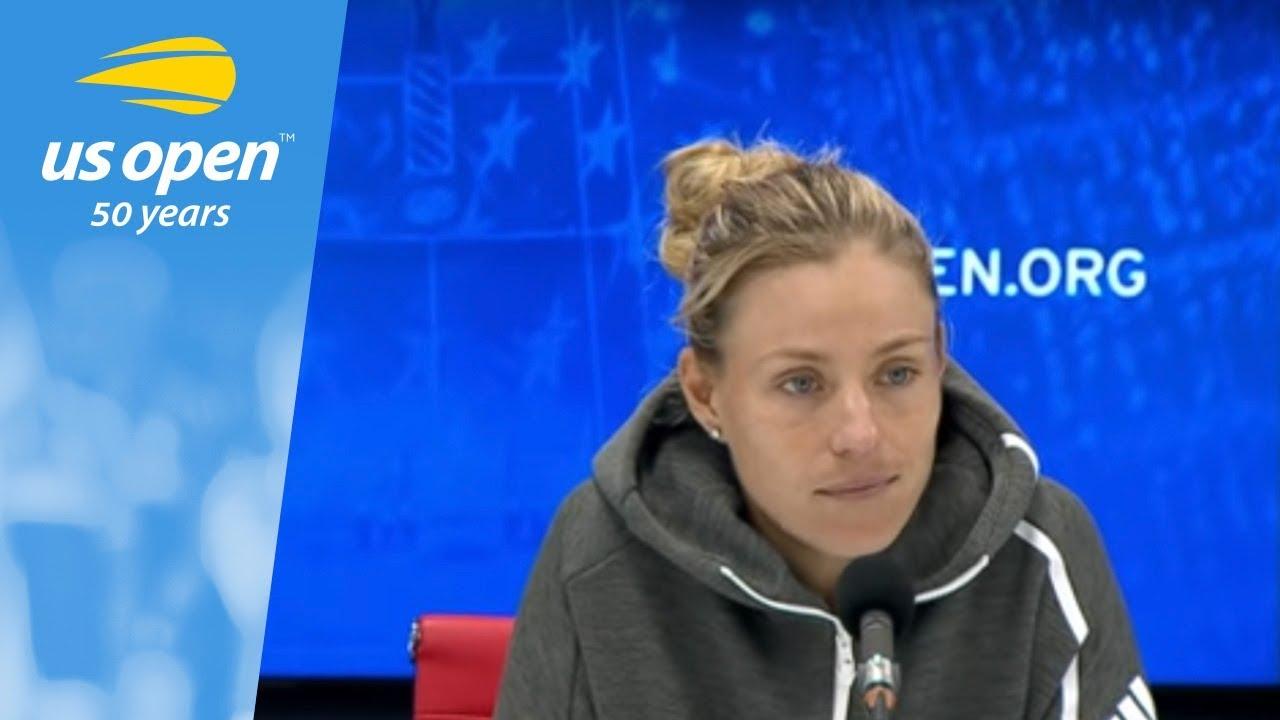 2018 US Open Press Conference: Angelique Kerber