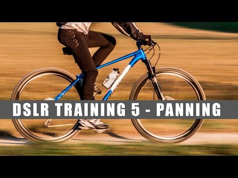 DSLR Training 5 - Panning - Slow Shutter Speed